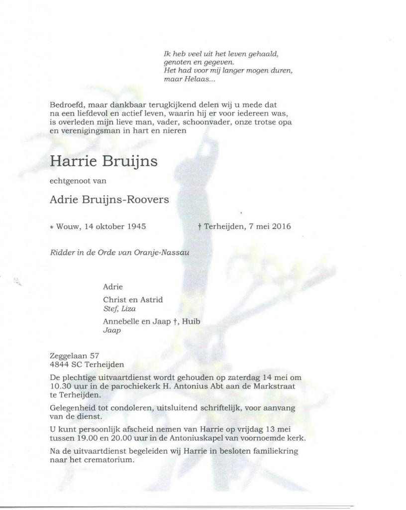 Rouwkaart Harrie Bruijns-0001
